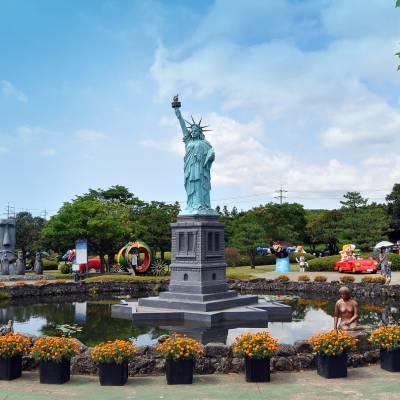 Jeju Mini Land 제주미니랜드 In Jeju South Korea Trazy Koreas 1